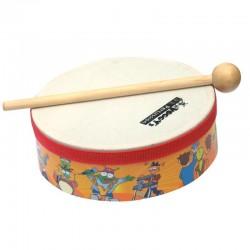 Instrumento Tambor pequeño con mazo Voggy's