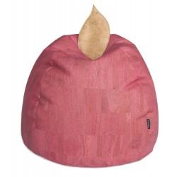 PUFF Manzana con Funda de Corcho Natural